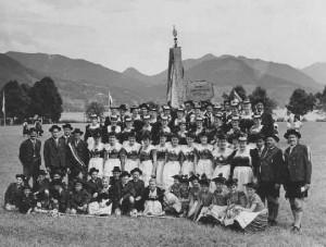 Fahnenweihe 1957